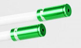 Koncovka Bowdenu GUB brzdová elox 5mm 1ks zelená Bike tuning centrum