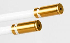 Koncovka Bowdenu GUB řadící elox 4mm 1ks zlatá Bike tuning centrum