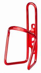 Košík na láhve M-wave drátový AL elox červený