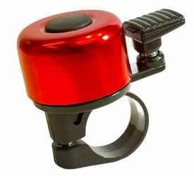 Zvonek na jízdní kolo Pro-T elox červená