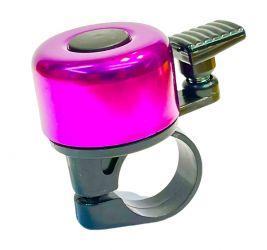 Zvonek na jízdní kolo Pro-T elox fialová