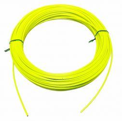 Bowden brzdový 5mm teflon barevný 1 m Fluo - žlutozelený