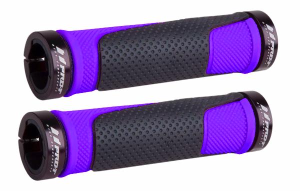 Gripy ProT 308 zajišťovací šroubky Fialové Pro-T