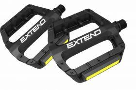 Pedály Extend Formo BMX Alu černá