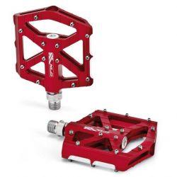 Pedály XLC MTB / Trekking-pedál PM-M12 průmysl AL červené