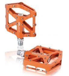 Pedály XLC MTB / Trekking-pedál PM-M12 průmysl AL oranžové