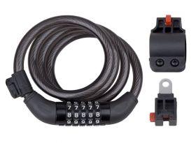 Zámek kódový PRO-T Plus 5 čísel M12 x 120cm 2x držák