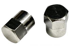 Čepička ventilku AV Píst 2ks stříbrná