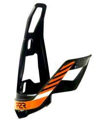 Košík na lahev P2R HUGG polykarbonát black-orange