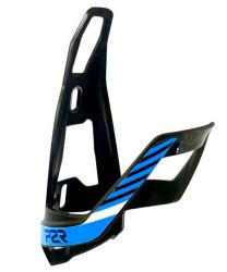 Košík na lahev P2R HUGG polykarbonát black-sky blue