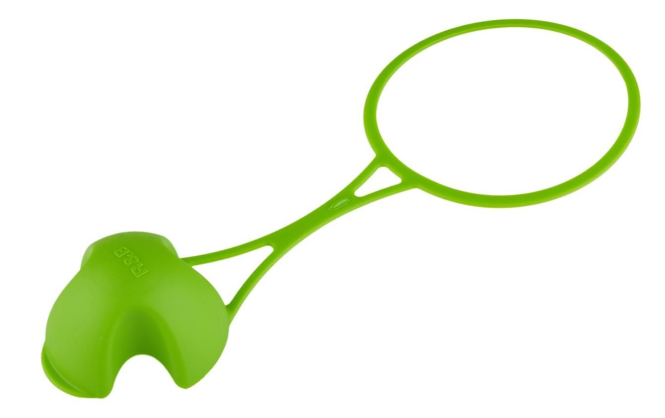 R&B krytka FLOPPY na lahev - zelená
