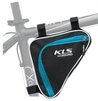Brašna do rámu KLS BASIC blue YKK 0,7L Kellys