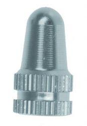 Čepičky ventilku M-wavw AL universál AV / FV Elox stříbrná 2ks