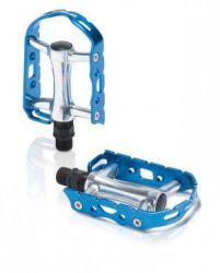 Pedály XLC PD-M15 Ultralight 241g Elox modrá