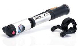Pumpička XLC PU-A04 2v1 AL na vidlici i duše AV FV DV manometr