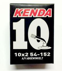 """Duše Kenda 10"""" 10x1,75 zahnutý auto ventilek AV"""