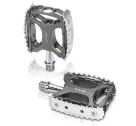 Pedály XLC MTB a Trekking pedál PD-M17 šedivá/stríbrná