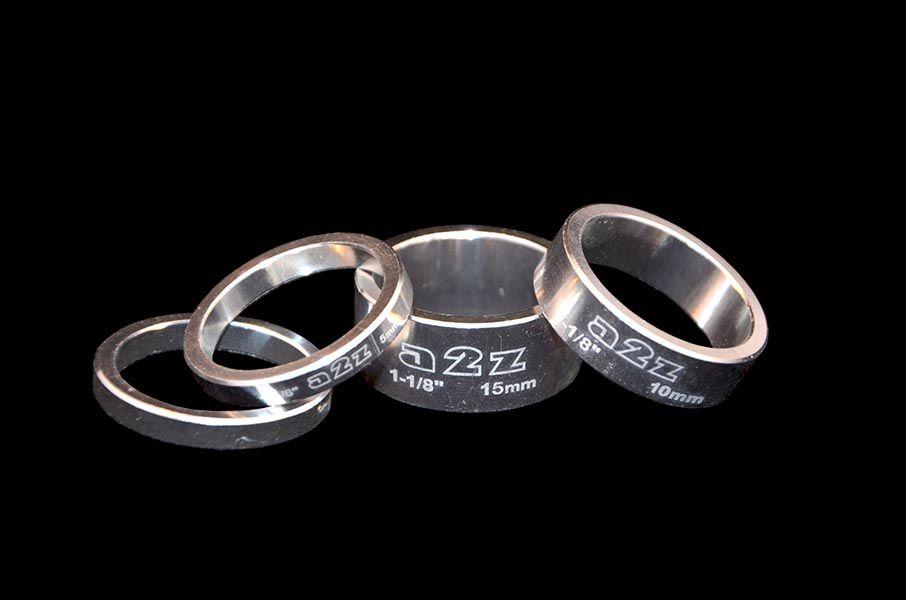 Podložka Ahed kroužek pod představec Elox 28,6 set 4ks stříbrná a2z