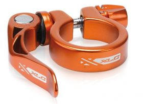 Objímka sedlovky XLC 31,8 mm PC-L04 s rychloupínákem oranžová