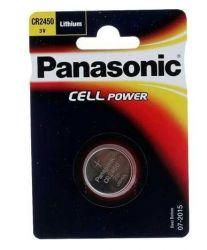 Baterie knoflíková Panasonic CR 2450 3V litium 1ks