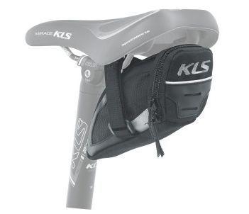 Brašna KLS Challenger Straps L podsedlová 0,8L černá Kellys