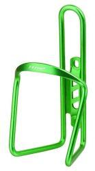 Košík na láhve M-wave drátový AL elox zelený