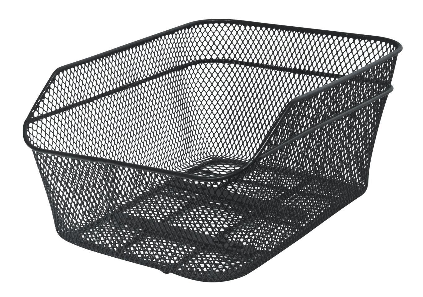 Košík na nošič KLS CITY rear zadní oválný středně velký černy