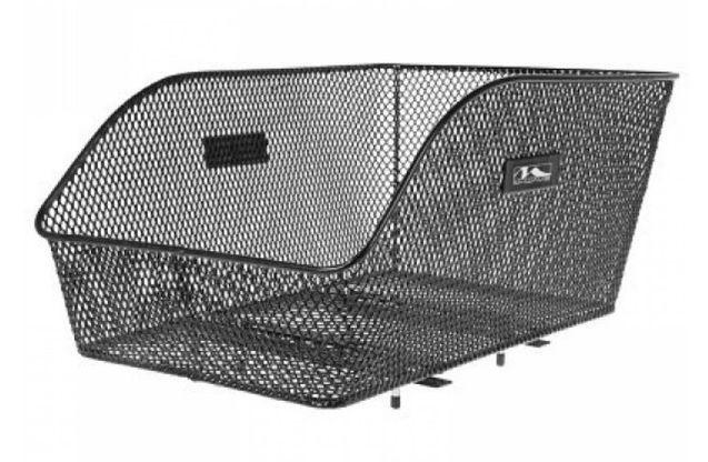 Košík na nosič M-wave drátěný černý velký hustá síť