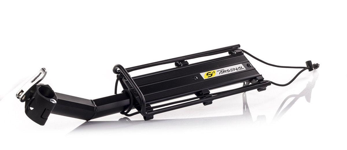 Nosič Sport Arsenál 250 AL na sedlovku zadní nosnost 7kg cerný