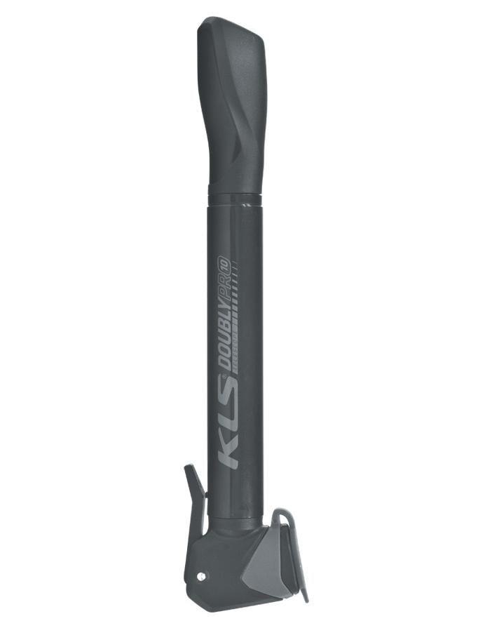 Pumpička KLS Doubly pro 10 + držák AV/FV/DV ventilek Kellys