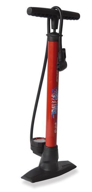 Pumpička XLC Delta PU-S04 manometr AV FV DV červená