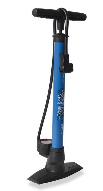 Pumpička XLC Delta PU-S04 manometr AV FV DV modrá