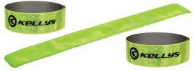 Reflexní pásky KLS samonavíjecí 3 x 40 cm 2ks XL zelená