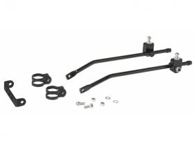 Úchyt - montážní set nosiče universal černý