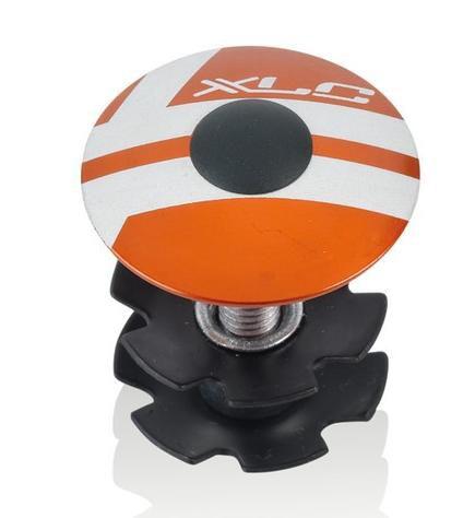 Víčko hlavového složení XLC AP-S01 28,6 / 1 1/8 ELOX oranžová