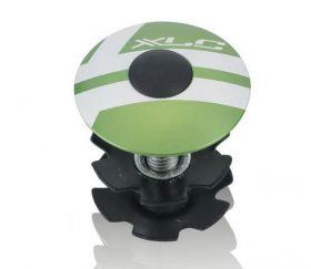 Víčko hlavového složení XLC AP-S01 28,6 / 1 1/8 ELOX zelená