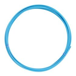 Bowden Brzdový 5mm teflon KLS 1 m světle modrý