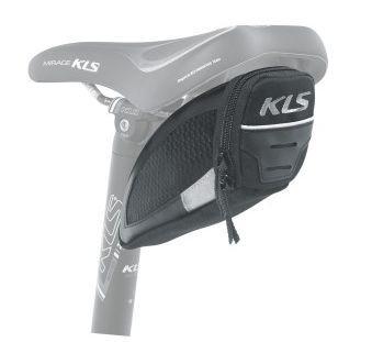 Brašna KLS Challenger T-system S podsedlová 0,3L černá Kellys