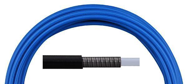 Bowden brzdový Aligator LY-220 5 mm teflon 1 m barevný modrý