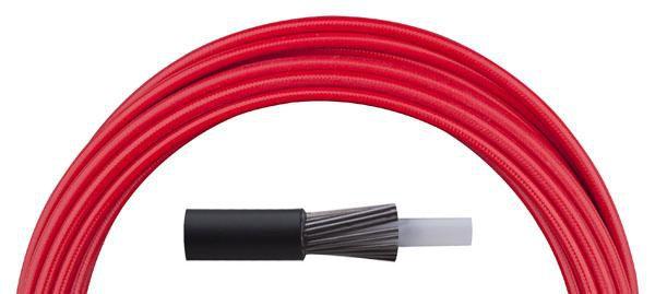 Bowden řadící Aligator LY-166 4 mm teflon 1 m barevný červený