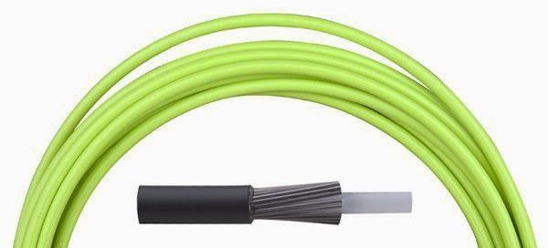 Bowden řadící Aligator LY-166 4 mm teflon 1 m barevný zelený