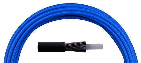 Bowden řadící Aligator LY-166 4 mm teflon 1 m barevný modrý