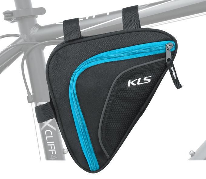 Brašna do rámu KLS Wedge 3M reflexní 0,9 L blue Kellys