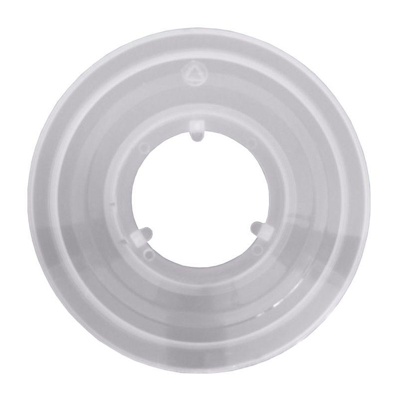 Kryt za kazetu 3 packy plastové bílé mléčné Force