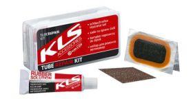 Lepení na duše KLS XC, MTB, FR, DH 6x záplata+Lepidlo+smirek