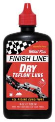 Olej Finish Line Teflon Plus DRY mazivo na řetěz 120 ml