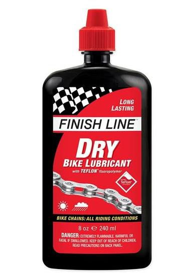 Olej Finish Line Teflon Plus DRY mazivo na řetěz 240 ml