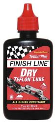 Olej Finish Line Teflon Plus DRY mazivo na řetěz 60 ml