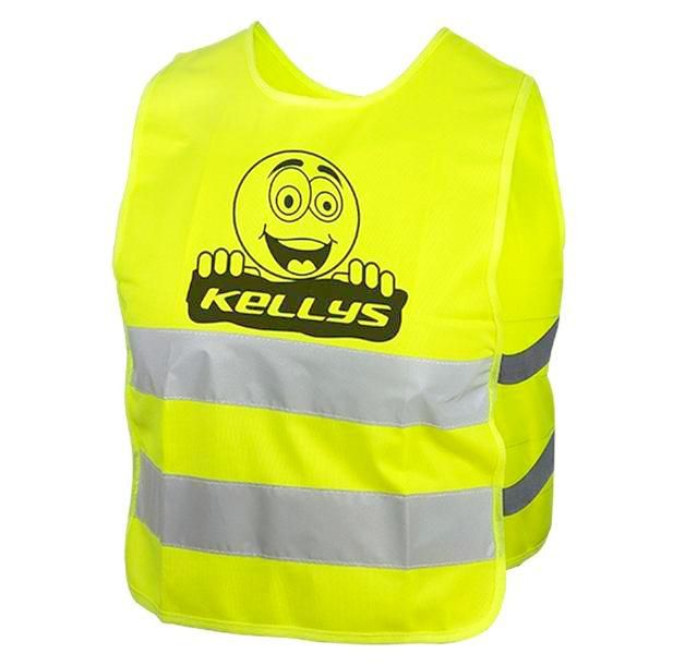Reflexní vesta Kellys STARLIGHT smile dětská M
