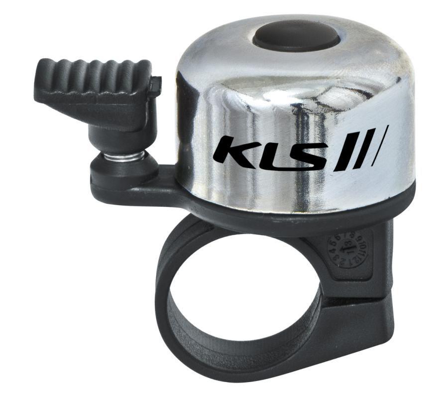 Zvonek KLS Bang na jízdní kolo stříbrná Kellys